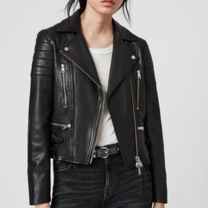 All Saints Papin Limited Edition Leather Jacket 8
